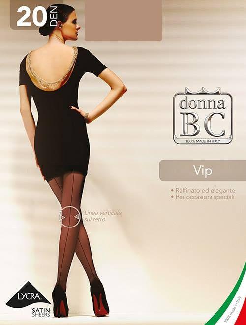 Miss B.C. VIP mintás harisnyanadrág 20 den