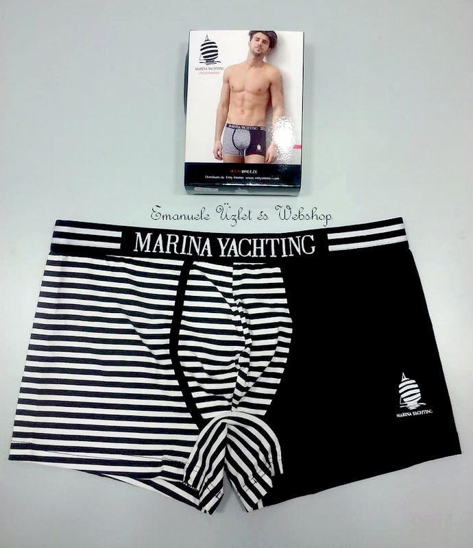 Marina Yachting boxer, fekete